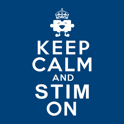 Funny Autism Humor T-Shirt: Keep Calm and Stim On