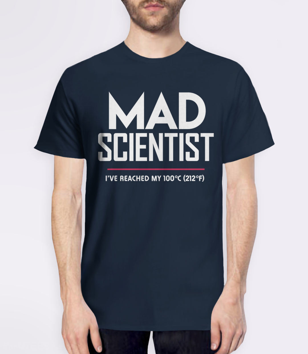 Mad Scientist science march protest t-shirt - mens navy