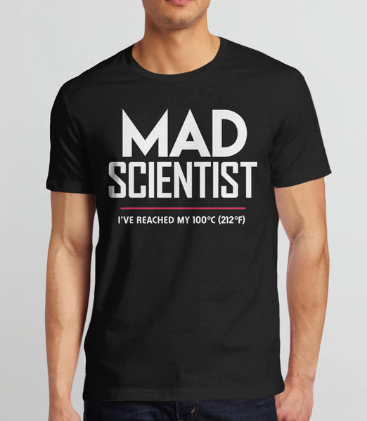 Mad Scientist science march protest t-shirt - mens black