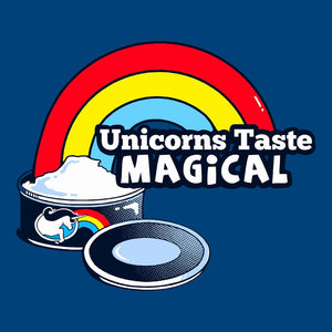 Unicorns Taste Magical | Funny Unicorn Sarcasm T-Shirt