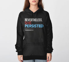 Nevertheless She Persisted Hoodie from Boots Tees