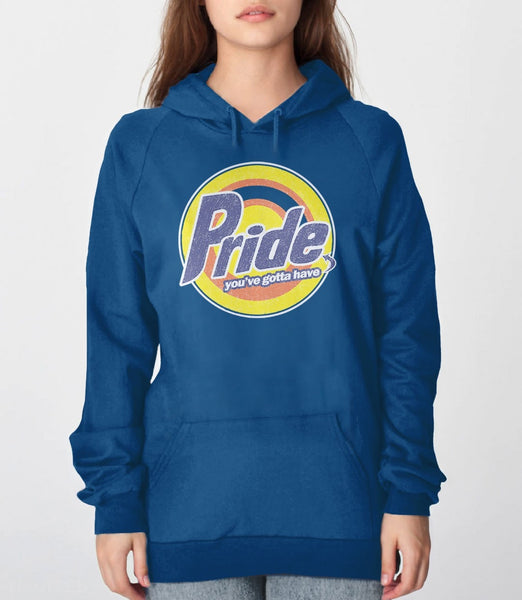 Gay Pride Logo Sweatshirt for pride week - royal blue