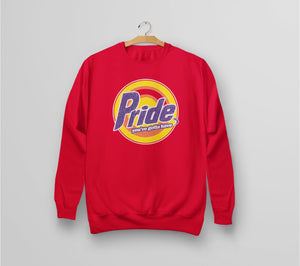 Gay Pride Logo Sweatshirt for pride week