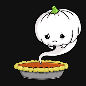 """Sad Pumpkin"" Tshirt 