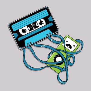 The Comeback T-Shirt | Cute retro music cassette tape tee shirt.