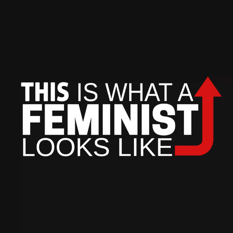 This is what a feminist looks like black t-shirt