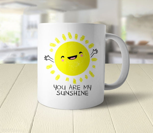 You Are My Sunshine Coffee Mug - back