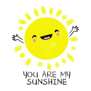 You Are My Sunshine T-Shirt with cute kawaii sun