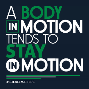 March for Science t-shirt: a body in motion