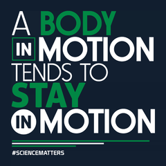 March for Science: A Body in Motion T-shirt from Boots Tees