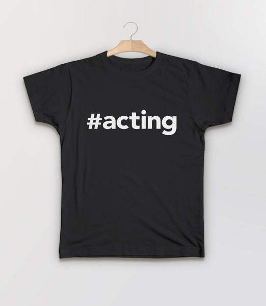 #Acting T-Shirt | Theater gift for actor or actress - kids tee