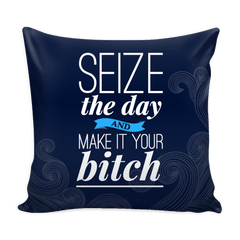 Seize the Day Pillows from Boots Tees
