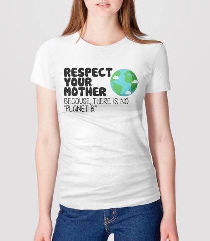 Earth Day T Shirt, White Unisex XS by BootsTees