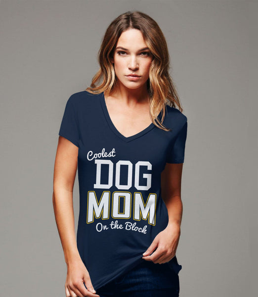 Dog Mom Shirt for Women | dog tshirt, Black Unisex S by BootsTees