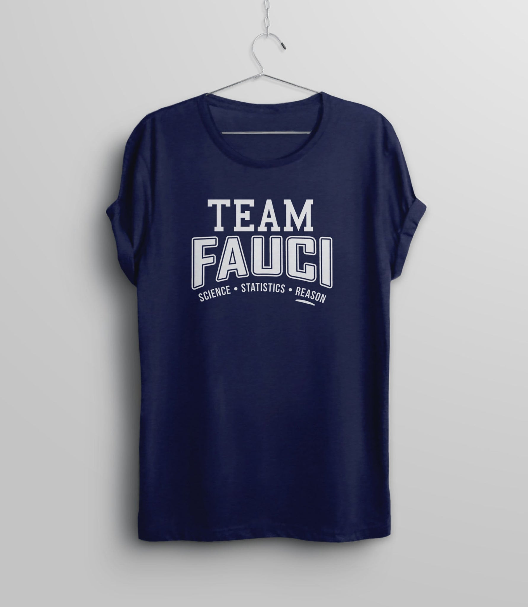 Team Fauci Shirt, Royal Blue Unisex S by BootsTees