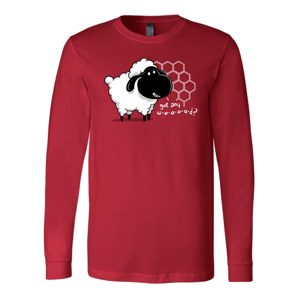 Cute Settlers of Catan long sleeve t-shirt | board game geek gift - red