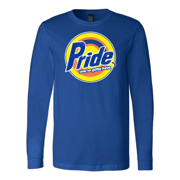 Pride, Royal Long Sleeve Tee by BootsTees