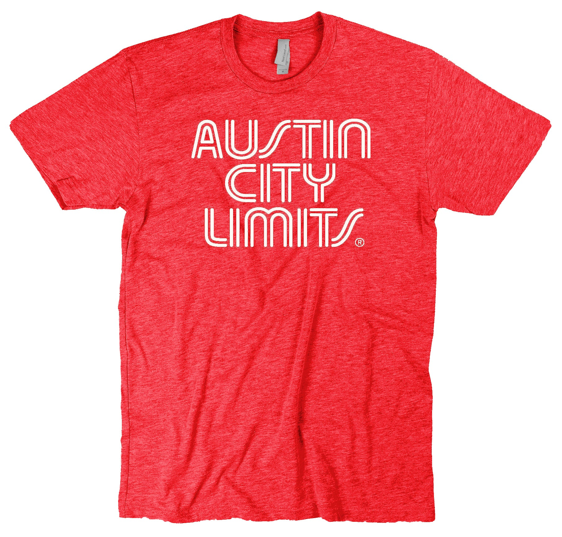 Vintage Red Unisex Tee with White ACL Logo