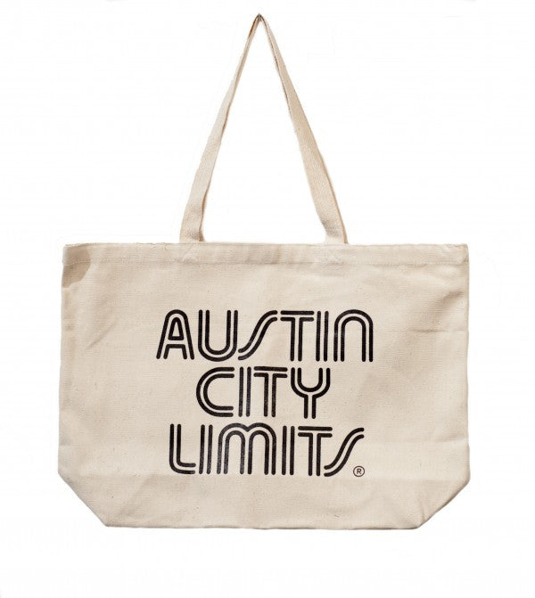 Austin City Limits Canvas Tote Bag