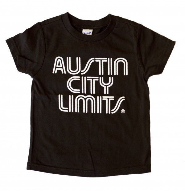 Black Toddler Tee with White ACL Logo