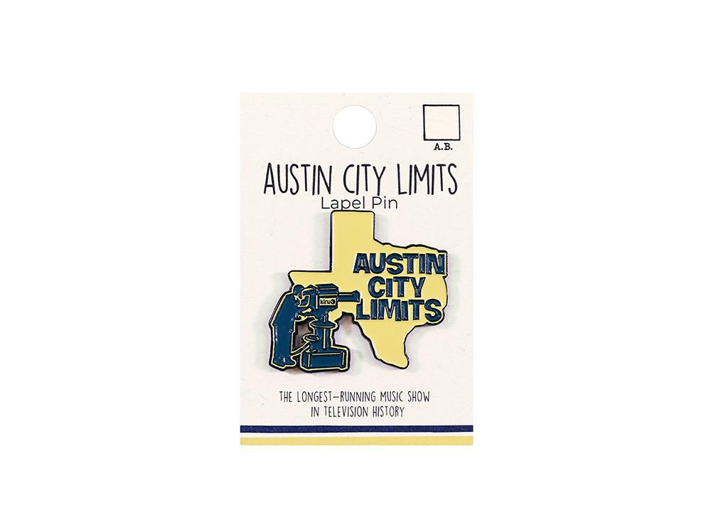 Austin City Limits Die Struck Cameraman Lapel Pin