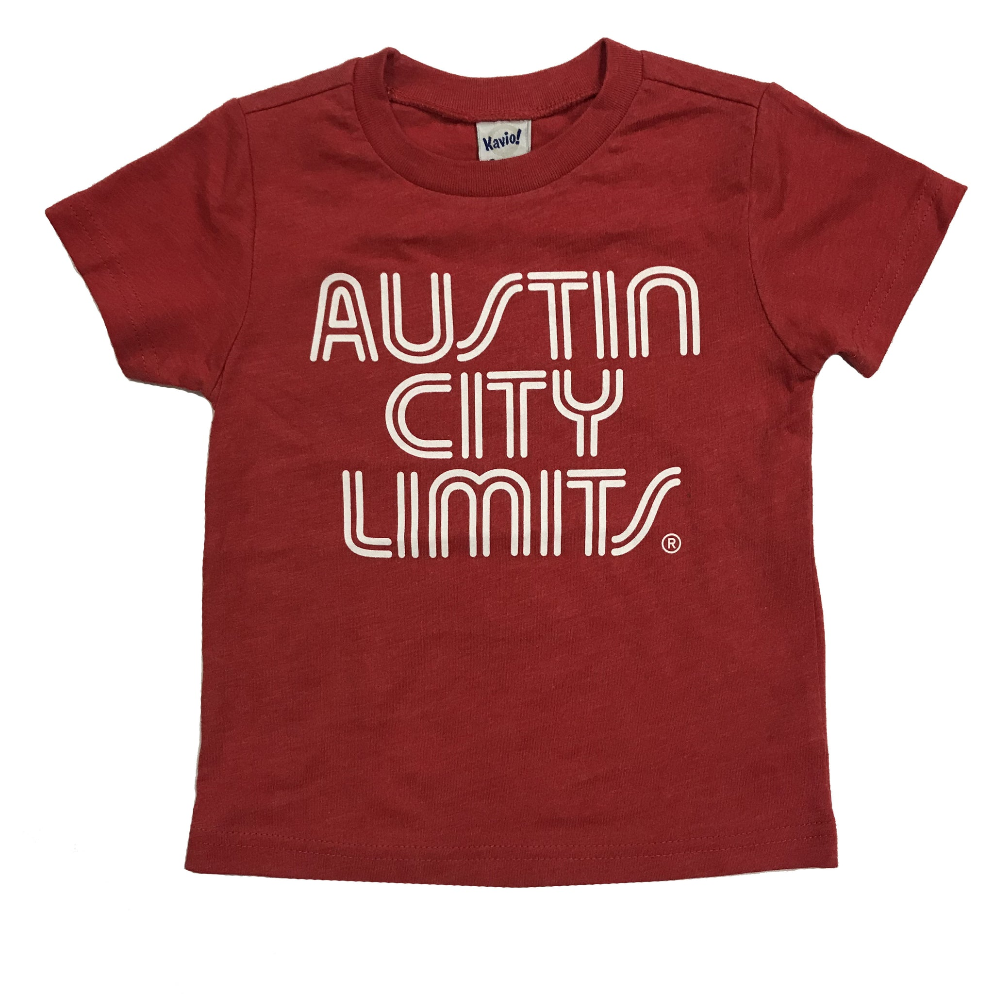 Red Toddler Tee with White ACL Logo