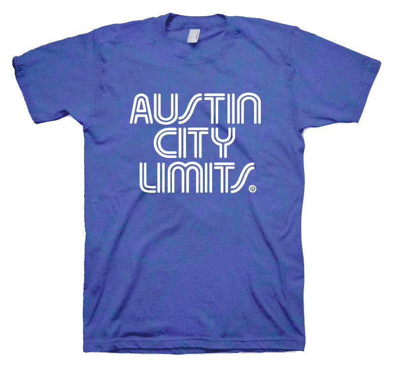 Vintage Blue Unisex Tee with White ACL Logo