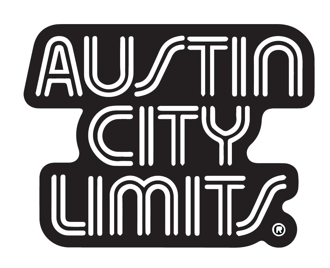 Austin City Limits Black Die Cut Sticker