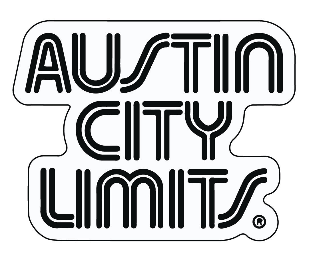 Austin City Limits White Die Cut Sticker