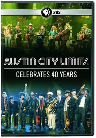 """Austin City Limits Celebrates 40 Years"" DVD"
