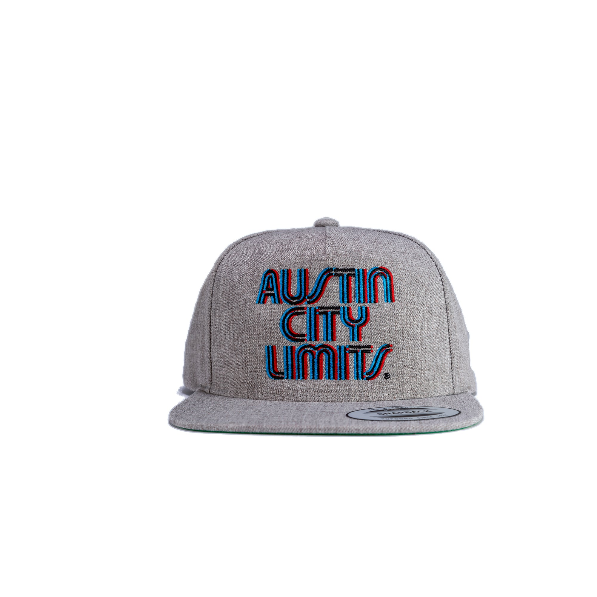 Austin City Limits Offset Triple Stitch Premium Flat Bill Snapback