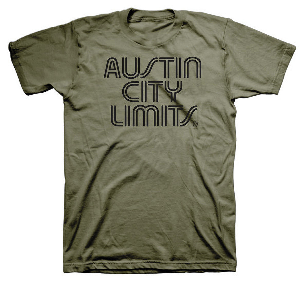 Military Green Unisex Tee with Black ACL Logo