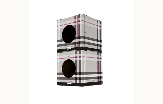 Modular Cat Condo - 2 Pack Plaid