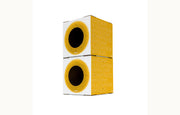 Modular Cat Condo - Fuzzy Yellow 2 Pack