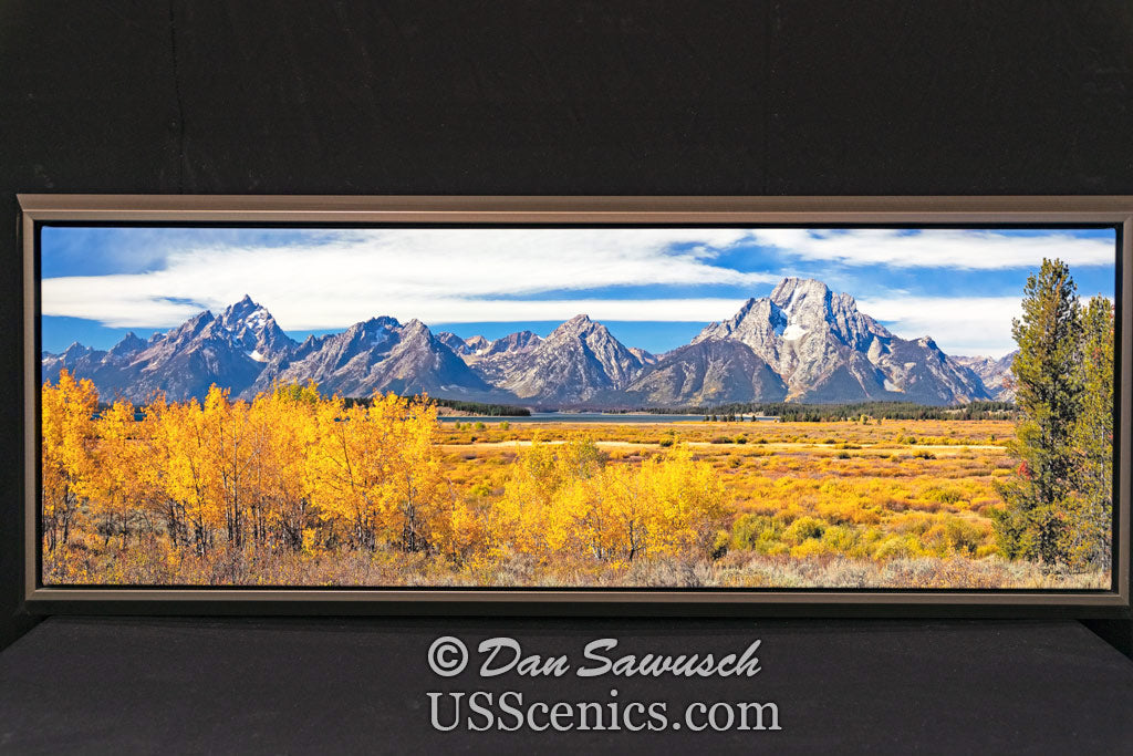 Grand and Moran 16x48 Canvas Special