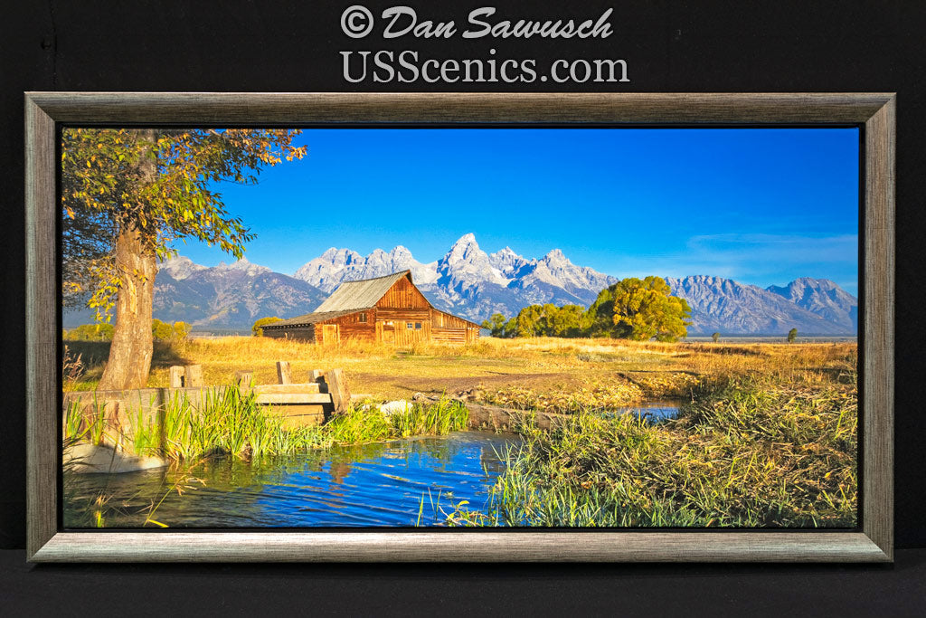 Morning Magic - T.A. Moulton Barn 17x34 Canvas Special