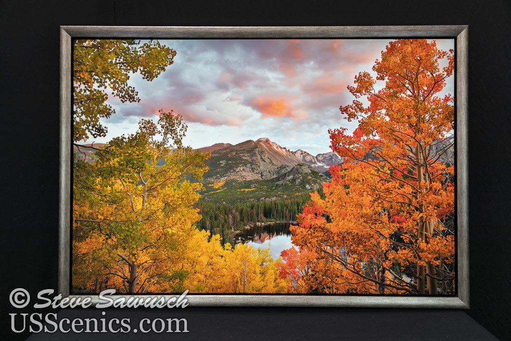 Scarlet Night at Bear Lake 30x45 Canvas Special