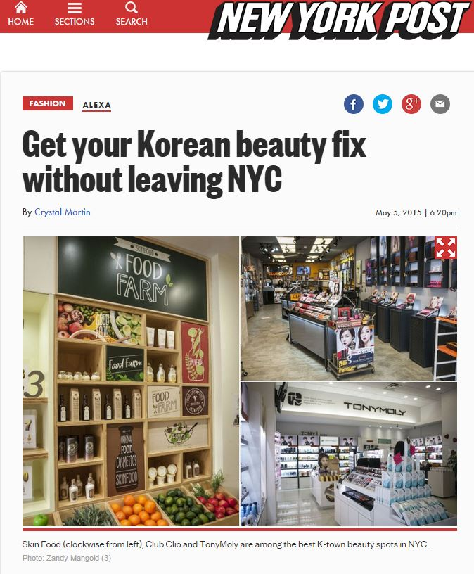 6185ba1b97 Get your Korean beauty fix without leaving NYC.