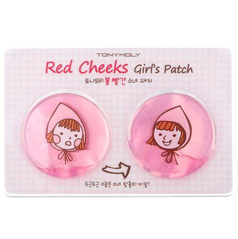 RED CHEEKS GIRLS PATCHES