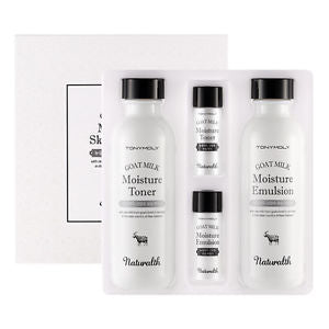 NATURALTH GOAT MILK  MOISTURE SKIN CARE SET