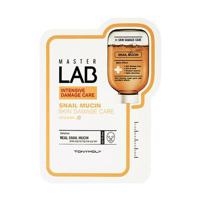 MASTER LAB SNAIL MUCIN MASK SHEET