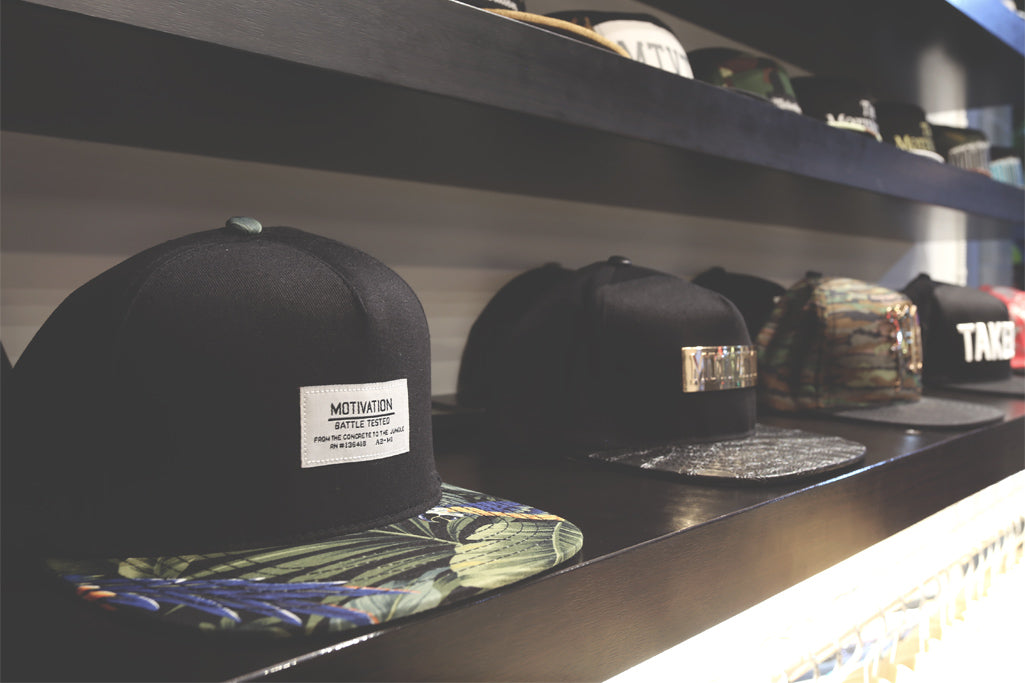 Fitted and Snapback hats