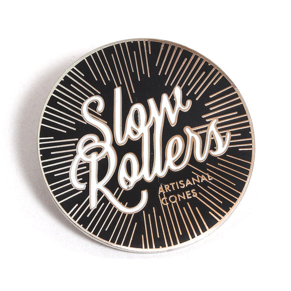 Slow Rollers Pin Gold