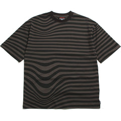 Stripes T-Shirt Black / Grey