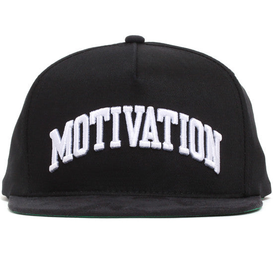 Campus Snapback Hat Black