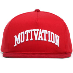 Campus Snapback Hat Red