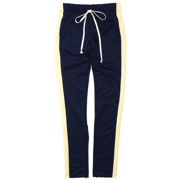 Track Pants Navy / Banana Yellow