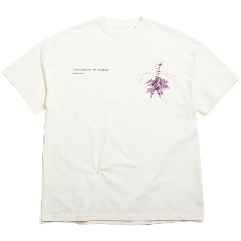 Lavender Heavyweight T-Shirt Wheat