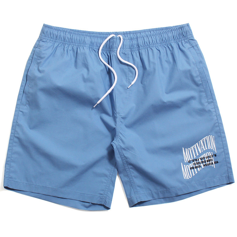 Double Wave Lightweight Shorts Bay Blue