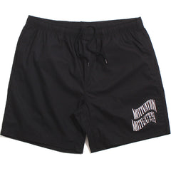 Double Wave Lightweight Shorts Black
